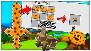 *COOKIE SWORD MOD* THE BEST GAMEMODE EVER CREATED IN ALL OF MINECRAFT - MINECRAFT COOKIE CAMP