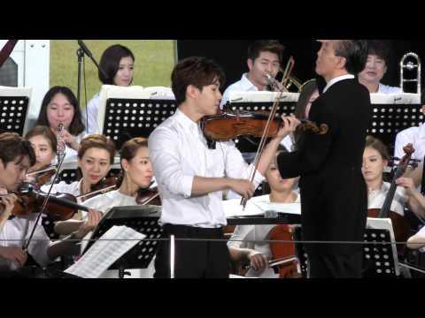 150719 HENRY(SUPER JUNIOR-M)_バイオリン演奏 / 언제나 칸타레2 파이널 공연