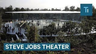 What It's Like Inside Apple's New Steve Jobs Theater