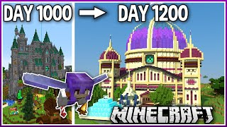I Played Minecraft for 1200 Days.. (1.16 Survival)