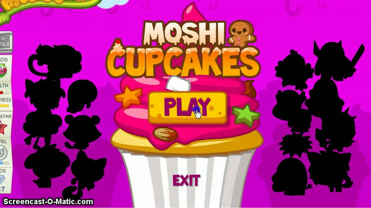 Moshi Monsters New Game Moshling Cupcakes YouTube