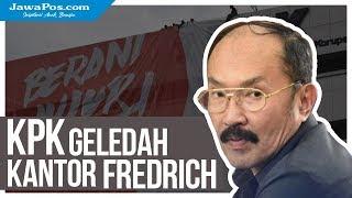 KPK Geledah Kantor Fredrich Yunadi