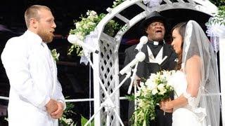 Slick prepares to marry AJ and Daniel Bryan: Raw, July 23, 2012