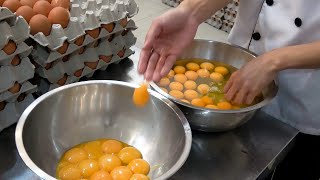 How Huge Castella Jiggly Cakes Are Made