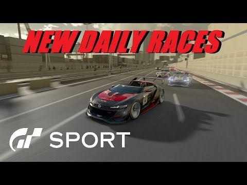 GT Sport New Daily Races - Live
