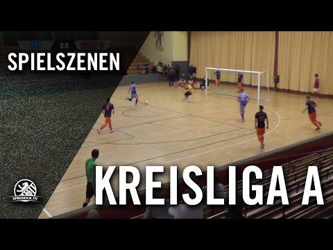 FC Arminia Tegel - FSV Spandauer Kickers II (Hallenturnier der Kreisliga A, Vorrunde, Gruppe 3) - Spielszenen | SPREEKICK.TV