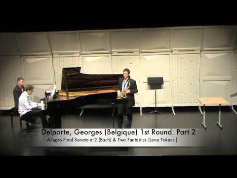 Delporte, Georges (Belgique) 1st Round. Part 2