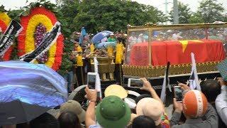 Ninh Bình đón chủ tịch Trần Đại Quang về với đất Mẹ