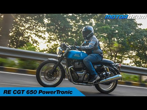 video Royal Enfield Continental GT 650