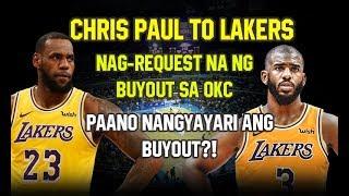 CHRIS PAUL POSIBLENG MAPUNTA SA LA LAKERS? | NAG-REQUEST NA NG BUY OUT