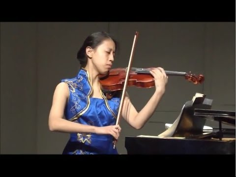 Joyce Lin - Music Training Center Violin Faculty