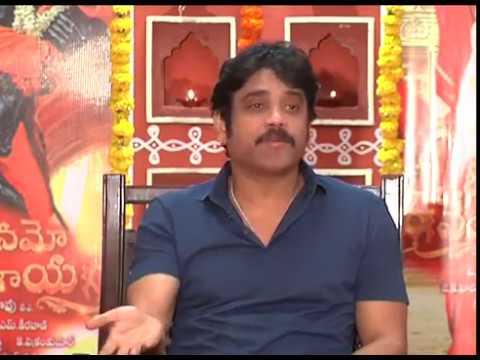 Nagarjuna-Interview-About--Om-Namo-Venkatesaya