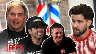 NELK BOYS SMOKING INSIDE BARBERSHOP PRANK | Jeff's Barbershop
