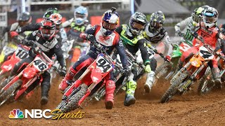 Supercross Round 7 at Orlando   EXTENDED HIGHLIGHTS   2/13/21   Motorsports on NBC