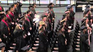 'WF 2015 Graduation Ceremony - College of Arts and Sciences + Kelce College of Business