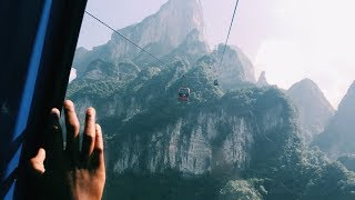 A Postcard From Tianmenshan (Highest Cable Car in the World, 999 Steps to Heavens Gate, Glasswalk)