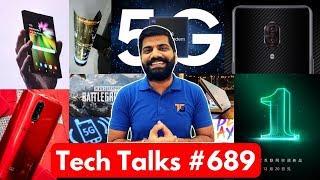 Tech Talks #689 - Xiaomi AC, Folding TV, Samsung 6000mAh Battery, Lenovo 12GB RAM, PUBG 0.10.0