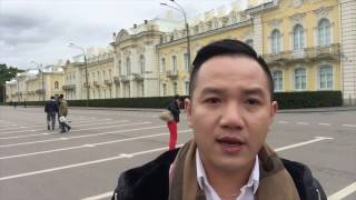 Vlog 37 - Du Lịch Nga - Tham Quan Cung Điện Mùa Đông & Cung Điện Mùa Hè