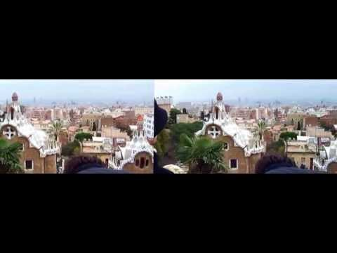 Park Guell Barcelona 3d YT3D.AVI