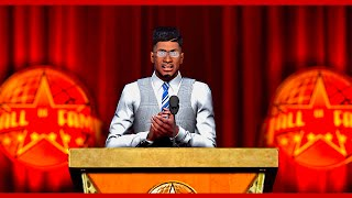 THE RETIREMENT | THE GREATEST HALL OF FAME SPEECH | NBA 2k16 MyCareer