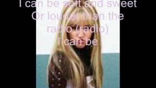 Hannah Montana-Who Said w/lyrics