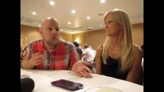Hannibal SDCC 2014 - David Slade & Martha DeLaurentiis Interview