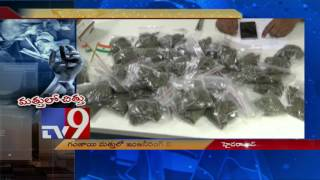 Engineering students held with cannabis in Hyderabad..