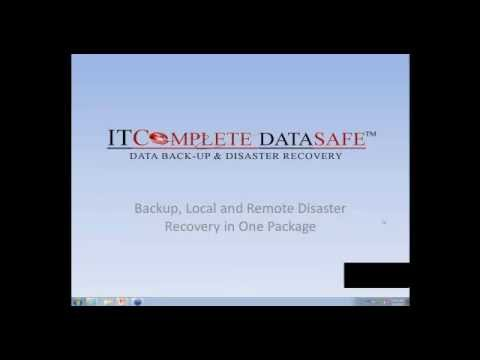 UNAPEN Webinar on ITComplete DataSafe - Data Backup and Disaster Recovery
