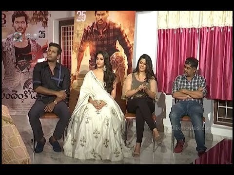 Vishal And Keerthi Suresh Interview | Pandem Kodi 2 Film