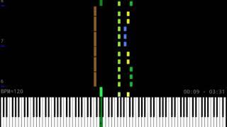 【#コンパス】やどりぎを耳コピ、MIDIにしてみた(full Ver.)