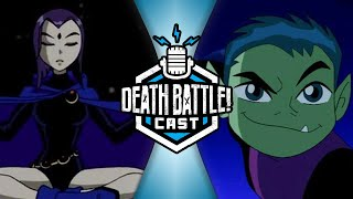 Raven VS Beast Boy w/ Tara Strong & Greg Cipes | DEATH BATTLE Cast #218