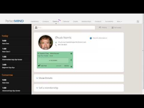 PerfectMIND 3 Viewing Student Information in Check in