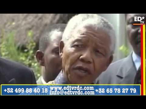 IL ETAIT UNE FOIS N° 0013: N. MANDELA ET  E. TSHISEKEDI LES HOMMES DE LA PAIX.
