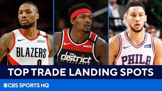 2021 NBA Draft Potential Trades: Landing Spots For Damian Lillard, Bradley Beal   CBS Sports HQ
