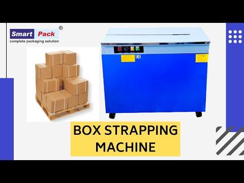 Semi-Automatic Box Packaging Machine - Strapping Machine