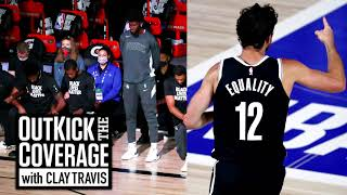 NBA Players Stand During Anthem & The Problem With SJW Jerseys   Jason Whitlock & Clay Travis