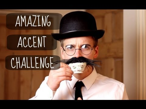The Amazing Accent Challenge | ThatcherJoe