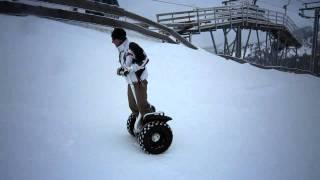Segway en la nieve