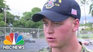 Military Personnel Describe Lockdown During Shooting At Pearl Harbor Naval Shipyard   NBC News