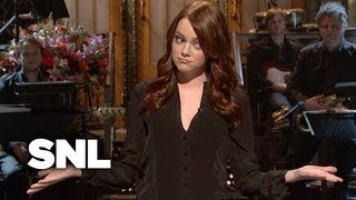 Monologue: Emma Stone on Attracting Nerdy Fans - SNL