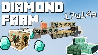 Minecraft: Diamond Farm!!! [Snapshot 17w14a]