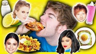 TASTING CELEBRITIES FAVORITE FOODS 3