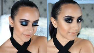 Blue Smokey Eye   The Power Of Makeup By NikkieTutorials Palette