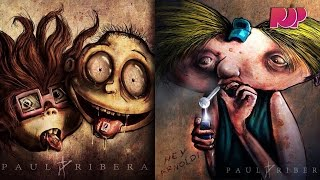 Favorite Childhood Cartoons Are Drug Addicts?!