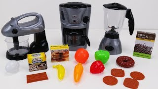 Kitchen Appliance Set from Kid Connection - Breakfast with Spiderman Toy Learning Video