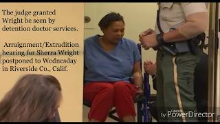 New!!! Lorenzen Wright's ex-wife shows up to court in a wheelchair