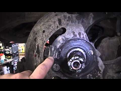 2003 Chevrolet S10 ABS Wheel Sensor Replacement - YouTube