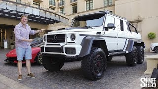 The Brabus G700 6x6 is the Beast of Beverly Hills!