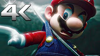 Mario Almost Dies in All Super Smash Bros Ultimate Animation Trailers (4k Ultra HD Cutscenes Movie)