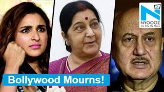 Bollywood celebrities mourn the demise of Sushma Swaraj..
